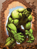 Marvel Age Hulk No.3 Cover: Hulk Plastic Sign by John Barber
