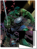 Incredible Hulks No.624: Hulk with a Sword Poster by Dale Eaglesham