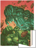 Marvel Age Hulk No.4 Cover: Hulk and Abomination Wood Print by John Barber
