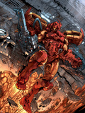 Iron Man: House Of M No.1 Cover: Iron Man Wall Decal by Pat Lee
