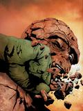Hulk & Thing: Hard Knocks No.3 Cover: Hulk and Thing Plastic Sign by Jae Lee