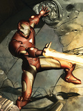 Iron Man No.79 Cover: Iron Man Plastic Sign
