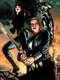 Hulk No.42: Valkyrie, Black Widow, War Machine Plastic Sign by Patrick Zircher