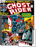 Marvel Spotlight No.5 Cover: Ghost Rider Prints by Mike Ploog
