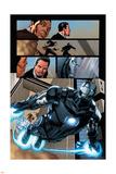 Iron Man 20 Figure: War Machine, Stark, Tony Plastic Sign by Joe Bennett