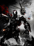 War Machine No.2 Cover: War Machine Plastic Sign by Francesco Mattina