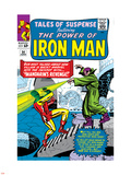 Tales Of Suspense No.54 Cover: Iron Man and Mandarin Plastic Sign by Don Heck