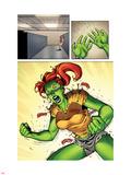 She-Hulks No.2: Lyra Screaming Plastic Sign by Ryan Stegman