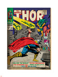 Marvel Comics Retro: The Mighty Thor Comic Book Cover No.143, Sif (aged) Plastic Sign
