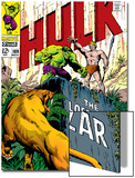 Marvel Comics Retro: The Incredible Hulk Comic Book Cover No.109, the Lost Land of Ka-Zar Posters