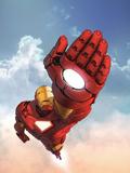 Marvel Adventures Iron Man No.12 Cover: Iron Man Plastic Sign