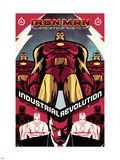 Iron Man Legacy No.6 Cover: Iron man Standing Plastic Sign by Juan Doe
