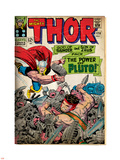 Marvel Comics Retro: The Mighty Thor Comic Book Cover No.128, Hercules (aged) Plastic Sign