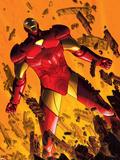 Marvel Adventures Iron Man No.2 Cover: Iron Man Plastic Sign