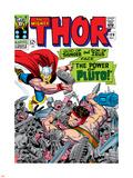 Marvel Comics Retro: The Mighty Thor Comic Book Cover No.128, Hercules Plastic Sign