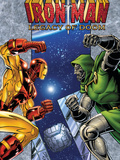 Iron Man: Legacy Of Doom No.1 Cover: Iron Man and Dr. Doom Poster by Ron Lim