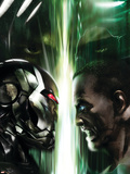 War Machine No.5 Cover: War Machine Plastic Sign by Francesco Mattina