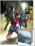 Ultimate Iron Man II No.5 Cover: Iron Man Prints by Pasqual Ferry