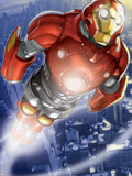 Ultimate Iron Man II No.3 Cover: Iron Man Wall Decal by Pasqual Ferry