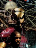 Iron Man: Rapture No.1 Cover: Iron Man Standing Plastic Sign by Tim Bradstreet