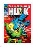 Marvel Comics Retro: The Incredible Hulk Comic Book Cover No.110, with Umbu the Unliving Plastic Sign