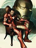Iron Man No.77 Cover: Iron Man, Stark and Tony Plastic Sign by Adi Granov