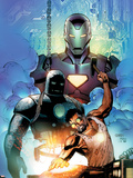 Iron Man: Requiem One Shot Cover: Stark and Tony Plastic Sign by Sean Chen