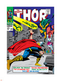 Marvel Comics Retro: The Mighty Thor Comic Book Cover No.143, Sif Muursticker