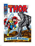 Marvel Comics Retro: The Mighty Thor Comic Book Cover No.151 --To Rise Again! Plastic Sign