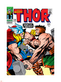 Marvel Comics Retro: The Mighty Thor Comic Book Cover No.126, Hercules Plastic Sign