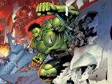 Incredible Hulks No.614: Hulk Smashing Plastic Sign by Barry Kitson