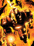 Iron Man: Hypervelocity No.6 Cover: Iron Man Wall Decal by Brian Denham