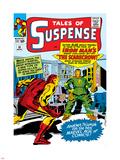 Marvel Comics Retro: The Invincible Iron Man Comic Book Cover No.51, Suspense- Facing the Scarecrow Wall Decal