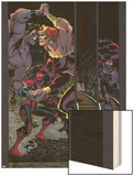 Hulk No.17 Group: Doc Samson, Thundra and Red She-Hulk Wood Print by Ian Churchill