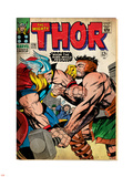 Marvel Comics Retro: The Mighty Thor Comic Book Cover No.126, Hercules (aged) Plastic Sign