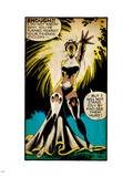 Marvel Comics Retro: X-Men Comic Panel, Storm (aged) Wall Decal