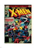 Marvel Comics Retro: The X-Men Comic Book Cover No.133, Wolverine Lashes Out (aged) Wall Decal
