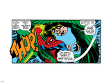 Marvel Comics Retro: The Amazing Spider-Man Comic Panel, the Vulture, Thop! Wall Decal
