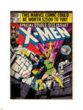 Marvel Comics Retro: The X-Men Comic Book Cover No.137, Phoenix, Colossus (aged) Plastic Sign