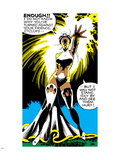 Marvel Comics Retro: X-Men Comic Panel, Storm Plastic Sign