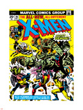 Marvel Comics Retro: The X-Men Comic Book Cover No.96, Fighting the Night Demon Wall Decal