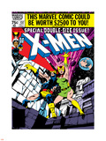 Marvel Comics Retro: The X-Men Comic Book Cover No.137, Phoenix, Colossus Plastic Sign