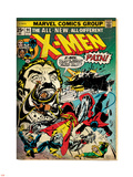 Marvel Comics Retro: The X-Men Comic Book Cover No.94, Colossus, Nightcrawler, Cyclops (aged) Wall Decal