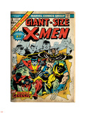 Marvel Comics Retro: The X-Men Comic Book Cover No.1 (aged) Wall Decal