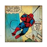 Marvel Comics Retro: oud uitziend stripfragment Amazing Spider-Man Muursticker