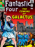 Marvel Comics Retro: Fantastic Four Family Comic Book Cover No.48, The Coming of Galactus Posters