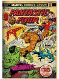 Marvel Comics Retro: Fantastic Four Family Comic Book Cover No.166, Thing Vs. Hulk (aged) Posters
