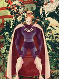 Adam: Legend Of The Blue Marvel No.3 Cover: Blue Marvel Plastic Sign by Juan Doe