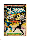 Marvel Comics Retro: The X-Men Comic Book Cover No.97, Havok, My Brother-My Enemy! (aged) Wall Decal