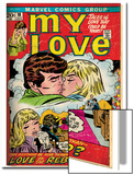 Marvel Comics Retro: My Love Comic Book Cover No.18, Kissing, Love on the Rebound (aged) Posters